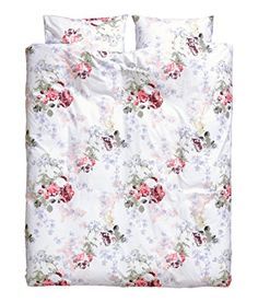 French Country Floral Duvet Quilt Cover 3pc Set King or Queen 100% Cotton Roses Bedding Green Red Purple Pink White (Queen) Duvet Cover Set http://www.amazon.com/dp/B00ZPKAAZA/ref=cm_sw_r_pi_dp_UPGGvb02KE50H