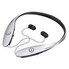 NEW IN BOX! LG Tone Infinim HBS-900 Bluetooth Headset Harman Kardon Silver