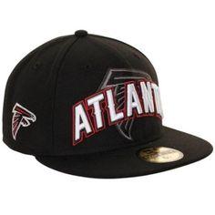 Atlanta Falcons NewEra 59Fifty NFL Draft Day 7-3/8 Fitted Hat Black-Mens #NewEra #AtlantaFalcons
