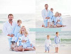 Cute Family Beach Portraits