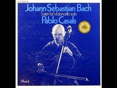 "Pablo Casals ""Bach: Suiten Für Violoncello Solo"" 3LP Box FULL ALBUM"