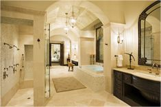 Key Interiors by Shinay: Old World Bathroom Design Ideas