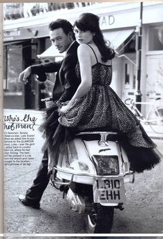 biking would be a lot more fun, if it was this stylish every day