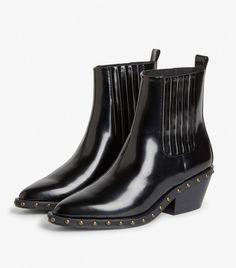 63f6b23c7 Monki Studded Cowboy Boots Monki, Who What Wear, Cowboy Boots, Cowboy Boot,
