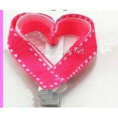 Heart Shaped Hair Clip