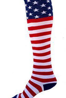 American Flag Knee Socks