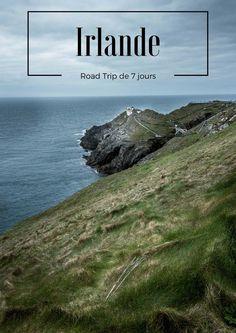 Road trip d'une semaine en Irlande. Détails de l'itiniraire, photos et vidéos.