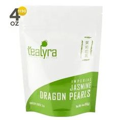 Tealyra Imperial Jasmine Dragon Pearls Loose Leaf Green Tea Jasmine Green Tea with Pleasant Aroma and Tonic Effect *** For more information, visit image link. (This is an affiliate link) Numi Organic Tea, Organic Loose Leaf Tea, Organic Green Tea, Sencha Green Tea, Tea Varieties, Green Tea Bags, Best Green Tea, Jasmine Green Tea, Gourmet