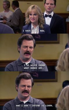 On fashion: | 26 Ron Swanson Jokes That Just Never Get Old