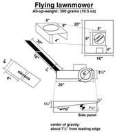 flying r/c lawnmower - Google Search