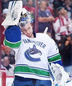 Eddie Lack • Vancouver Canucks sendto utica comets already.