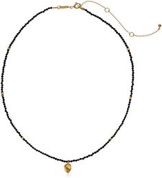 Diamond Obliging Black Diamond Accent Paw Print Pendent Chain 14k Rose Gold Finish Complete In Specifications