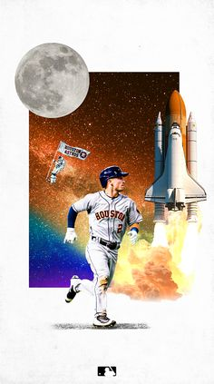 Sports Advertising, Sports Graphics, World Of Sports, White Space, Houston Astros, Graphic Design, Baseball, Purple, Twitter