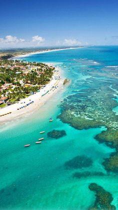 Nadire Atas on Beautiful Beaches To Visit Porto de Galinhas, Pernambuco, Brazil. Places Around The World, Travel Around The World, Around The Worlds, Places To Travel, Places To See, Travel Destinations, Dream Vacations, Vacation Spots, Brazil Vacation