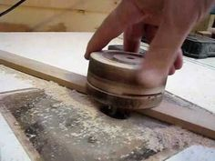 Making Toy Wheels Four at a Time - YouTube