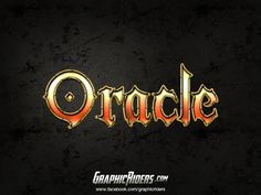 GraphicRiders | Fantasy style – Oracle (free photoshop layer style, text effect) #graphicriders #fantasy #texteffect