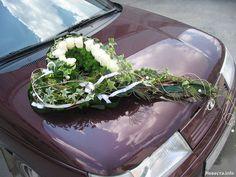 Украшение машин на свадьбу   819 Фото идеи