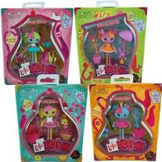 Lalaloopsy Mini Lala Oopsy 4 Doll Set Princess Anise, Saffron, Nutmet, and Juniper Oopsies Collection Lalaloopsy Mini, Doll Set, Doll Accessories, Fashion Dolls, Lunch Box, Princess, Games, Toys, Amazon