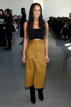 Zoe Kravitz - Celebrities Front-Row at New York Fashion Week  - Photos