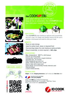 COOKUP 200 from IDCOOK Barbecues, Solar Energy, Work On Yourself, It Works, Let It Be, Usa, Design, Solar Power
