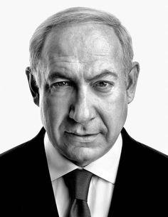 Portrait: Benjamin Netanyahu, Prime Minister of Israel | by Marco Grob ( website: marcogrob.com ) #photography #marcogrob