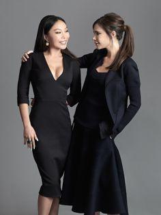 Baobao Wan and Victoria Beckham © Wing Shya.jpg | Hong Kong Tatler June 2016