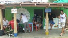 Notre coin de petit-déj, le bar à smoothie de San Juan del Sur, Nicaragua