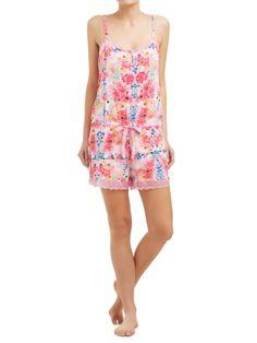 Sussan - Sleepwear - Onesies - Floral digital print playsuit #relaxwithsussan