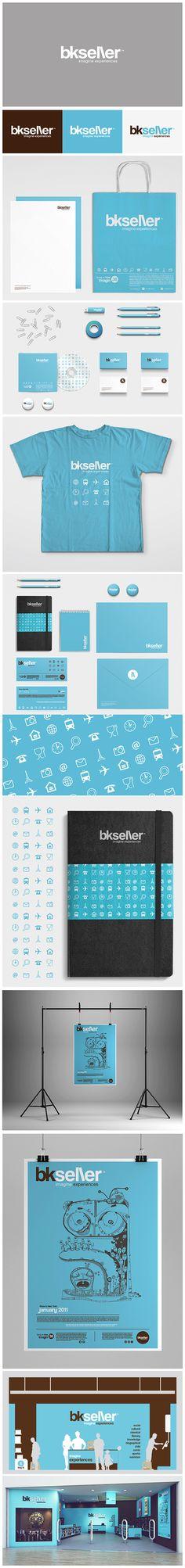 logo, concept, branding, bkseller by Mister Onüff by misteronüff, via Behance