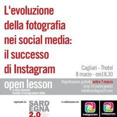 Quando Instagram racconta Cagliari // Mostra fotografica e open lesson