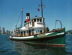 Steam Tug Boats   CANADIAN STEAM TUG MASTER, PHOTO FROM DON MEDFORTH.