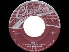 1957 HITS ARCHIVE: *Susie-Q* - Dale Hawkins - YouTube