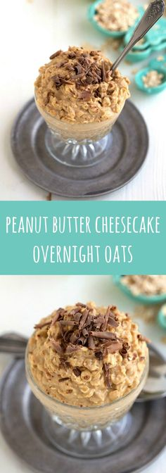 Delicious and easy peanut butter cheesecake overnight oats! Delicious and easy peanut butter cheesecake overnight oats! More from my sitePeanut Butter Cheesecake Stuffed Chocolate Brownie French Toasts Overnight Oats Apfel, Overnight Oatmeal, Overnight Oats With Yogurt, Overnight Breakfast, Overnight Oats Simple, Peanut Butter Overnight Oats, Breakfast Desayunos, Perfect Breakfast, Breakfast Smoothies