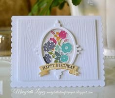 Marybeth's time for paper: Birthday Bouquet