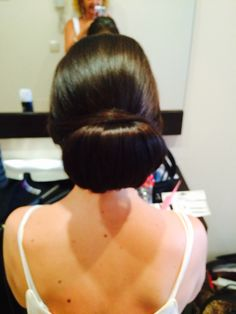Learn how to achieve the chignon. Visit joblackweddinghairspecialist.com July Wedding, Wedding 2015, Backless, Dresses, Fashion, Gowns, Moda, La Mode, Dress