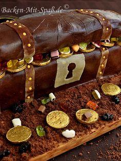 Torte Schatztruhe - Rezept