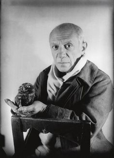 Pablo Picasso , Antibes 1946. © Michel SIMA #visitcotedazur Cote d'Azur French Riviera artist