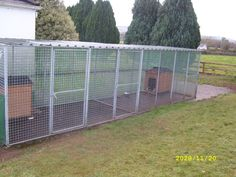 dog runs | Hayes Modular Systems - Dog Runs, Animal Enclosures
