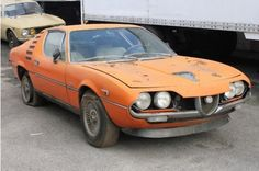 Alfa Romeo Montreal (1971)..what a classic it would be great to restore this car..
