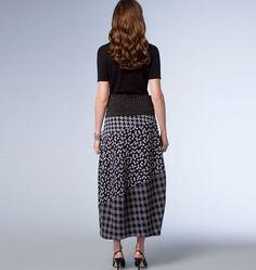 B6180, Misses' Skirt