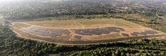 New SunPower solar farm online in Riverside, California Farm Online, Riverside California, Solar Projects, Solar Energy, Vineyard, Past, Commercial, City, Outdoor