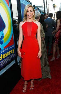Elizabeth Banks Halter Dress - Elizabeth Banks Looks - StyleBistro