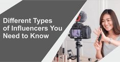 Different Types of Influencers You Need to Know - DMAI Blog Content Marketing, Social Media Marketing, Digital Marketing, Getting To Know, Need To Know, Search Ads, Can Plan, Business Articles, Display Ads