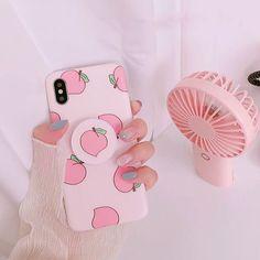 #wattpad #de-todo Tipos de Aesthetic  ¡Encuentra el tuyo! Kawaii Phone Case, Girly Phone Cases, Iphone Phone Cases, Bff Cases, Iphone 10, Coque Iphone, Pink Iphone, Peach Aesthetic, Aesthetic Colors