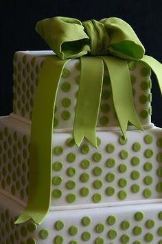 fun preppy little cake
