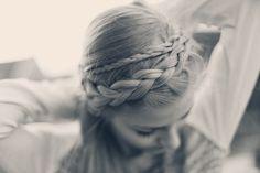 Mein Haupthaar ist gemein zu mir. - odernichtoderdoch.de #hair #inspiration #braided