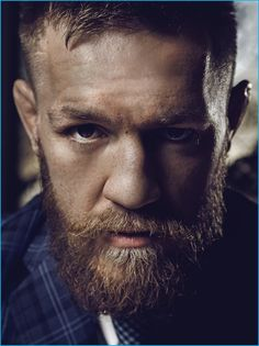 Conor McGregor photographed for Haute Time.