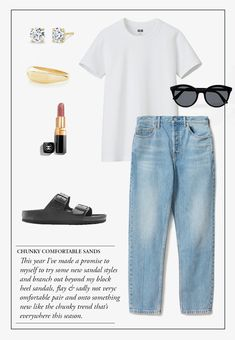 WISH LIST UPDATES & MORE OUTFIT PLANNING - ABOUT WISH LIST UPDATES & MORE OUTFIT PLANNING — SHOP WISH LIST UPDATES & MORE OUTFIT PLANNING 5 Must-Read Tips For First Time Home Buyers Black Sandals Outfit, Sandals Outfit Summer, Mode Lookbook, Stylish Outfits, Fashion Outfits, Weekend Style, Capsule Wardrobe, Style Me, Summer 2016