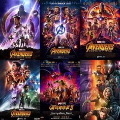 SOOOOOOOOO many posterssss!!!! And theyre all so beautiful I honestly couldnt decide which one is my favorite #avengers #guardiansofthegalaxy #infinitywar #avengersinfinitywar #theavengers #roadtoinfinitywar #mcu #marvel #marvelcinematicuniverse #blackwidow #natasharomanoff #spiderman #peterparker #captainamerica #steverogers #gamora #starlord #peterquill #ironman #tonystark #blackpanther #tchalla #okoye #posters #shuri #doctorstrange #groot #rocketraccoon #drax #thor