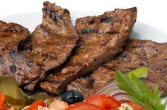 Iron-rich Beef Liver Recipe - White wine and onion reduction.